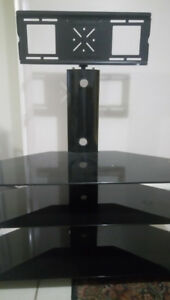 Excellent condition glass TV table