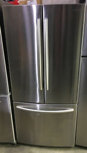 "Samsung stainless steel french door 30""W x 67""H x 29"" D $899"