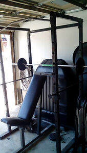 Workout cage