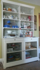 White Hutch & Buffet