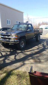 Chevy 1500 mud truck trade for a 4x4 atv or dirtbike