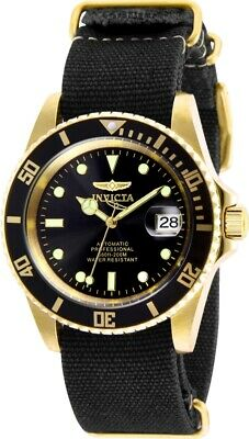 Invicta 27626 Pro Diver Men's 42mm Automatic Gold-Tone Steel Black Dial Watch