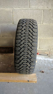 P195/60R15 Winter Tires with Rims