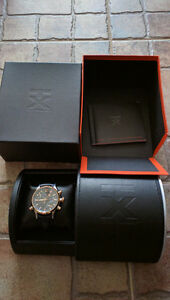 TX500 Series Rose Gold Techno Luxury World Timer