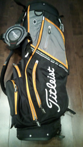 Like New Premium Titleist Stand/Carry Bag