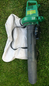 Weed Eater Barracuda Electric Leaf Blower / Mulching Vac