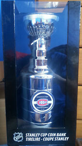 Montreal Canadiens 14 inch Stanley Cup Bank
