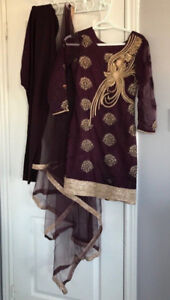 Salwar Kameez Boutique Pajami NEW Punjabi Suit Indian Size XS-S