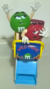 "M&M's Candy ""Wild Thing Roller Coaster"" Dispenser!"