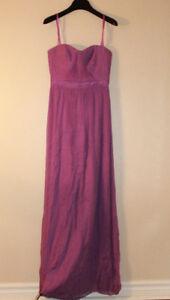Selling Sweetheart Purple Chiffon BCBG Dress