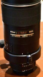 Nikon 300 mm f4 lens