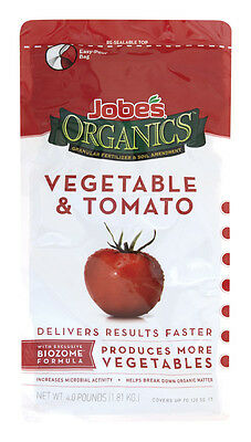 Jobes Organic Fertilizer Gardening Spikes For Bountiful Vegetables Made In USA