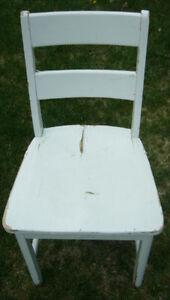 Chaise de pupitre