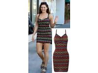 Kelly Brook Celebrity Inspired Bodycon Fit Mini Dress