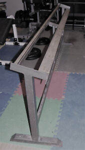 """A One-Tier Dumbbell Rackdimensions: H31"""" by L89""""W e l d e d1"""
