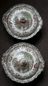 Johnson Brothers Mill Stream round serving bowls