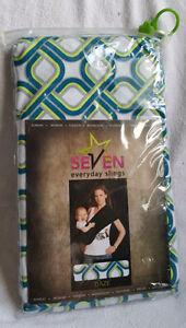 SEVEN EVERYDAY SLING BABY CARRIER DAZE PATTERN SIZE MEDIUM Kingston Kingston Area image 3