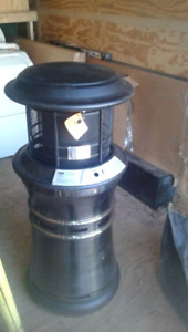 Out side propane heater