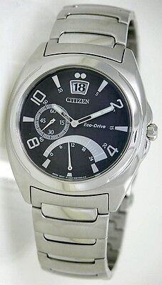 Citizen Eco Drive Dual Time Executive Watch BR0030-59E Eco Drive Dual Time Watch
