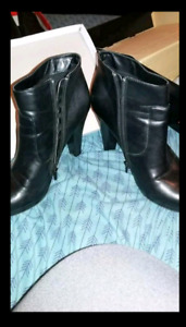 High Heel Ankle Boots Size 12