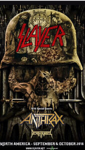ISO Slayer tickets general admission
