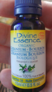 Divine Essence 100% pure and organic, essential oil