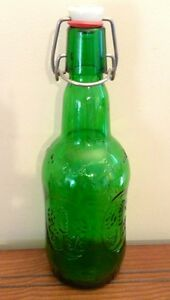 Antique Grolsch Glass Bottle