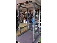 Heavy Duty Power Rack Strong, Robust Multipurpose Rack & Heavy Duty Olympic Shrug Bar
