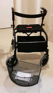 Nexus 3 Low foldable walker with basket and soft storage