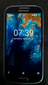 Samsung Galaxy S4 (unlocked, mint, private seller, Android 7)