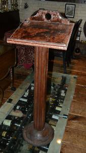 Vintage Wooden Bookstand   Book Podium   Book Pedestal London Ontario image 1