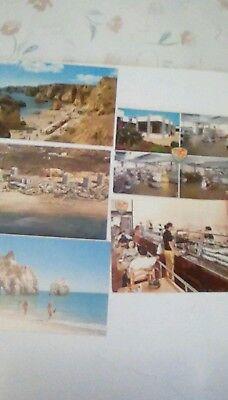 Old postcards of the Algarve Portugal