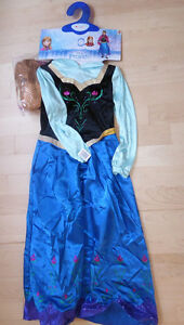 NEW Deluxe Frozen ANNA costume with wig, size 4T und 7\8