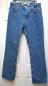 LADIES HARLEY DAVIDSON SIZE 8 BOOT CUT JEANS