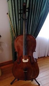Cremona SC-175 Cello Outfit Full Size, Ebony Fit