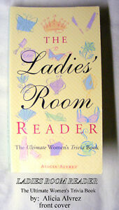 The Ladies Room Reader (Ultimate Women's Trivia Book) Like New