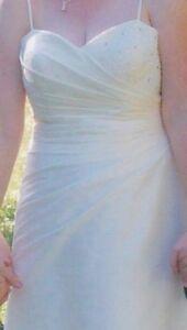 Ivory Wedding Dress - Size 13/14