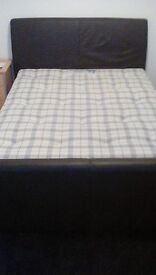 IKEA double size bed + double size matress