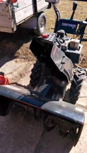 Craftsmen 11 hp snowblower