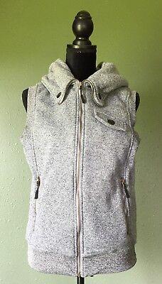 Iceberg Grey Vest NWOT Size Medium