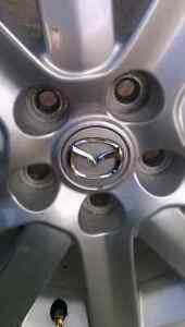 Mazdaspeed3 rims 18x7 5x4.5 bolt pattern London Ontario image 4