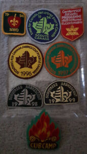 Cub Scout Jamboree Pack Patches Patch Merit NWO 94 96 97 98 99
