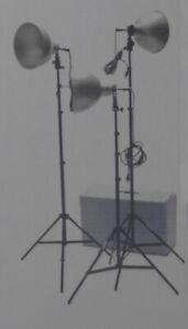 Éclairage/Studio lighting 2 Quartz Light Kit