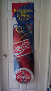 Coca-Cola 1996 Olympics Advertising banner