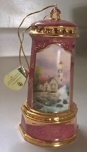 "Thomas Kinkade ""Beacon of Hope"" Porcelain Lighthouse"