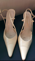 DORIANI Bridal shoes - chaussures mariée size 37 or 6.5/7(CAN)