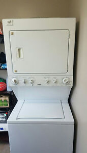 Maytag stacked washer and dryer for sale.