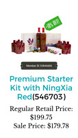 NINGXIA starter kit 10% off SALE+cash back