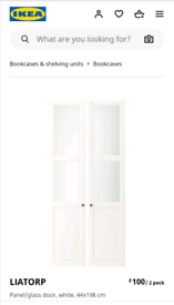 IKEA Liatorp Doors