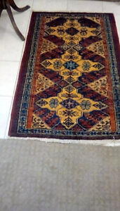 28X34 inches wood hand made RUG
